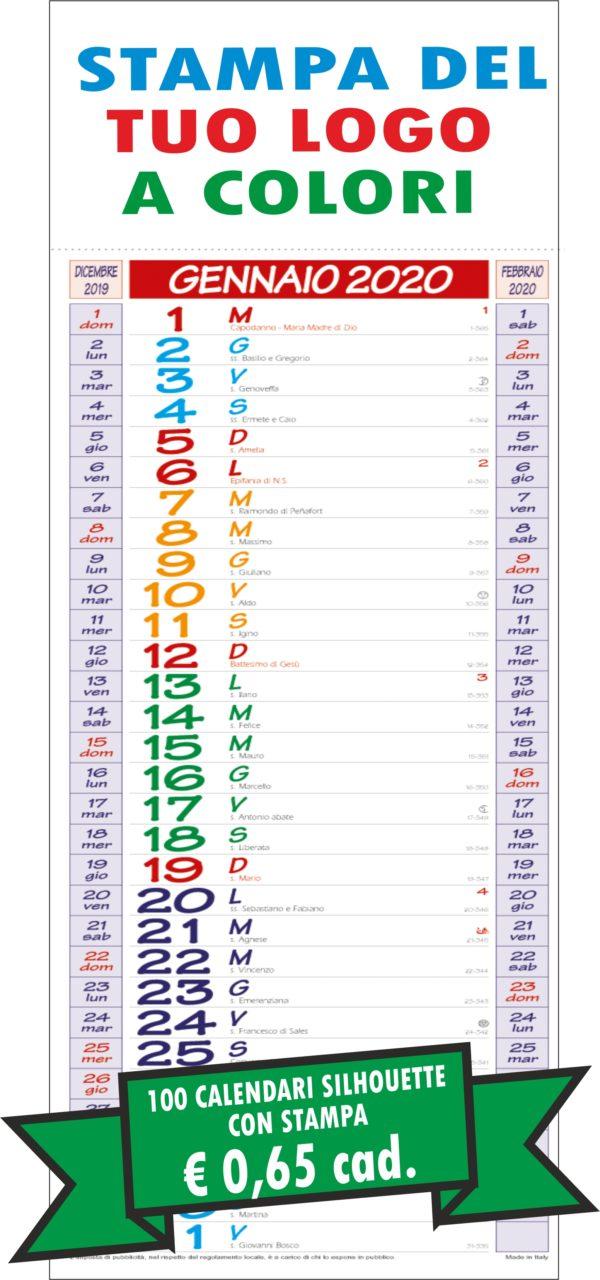 Calendario SILHOUETTE